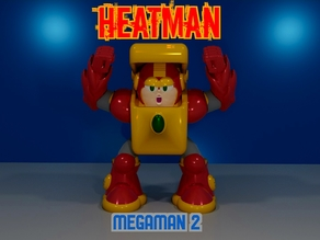 HEAT MAN from MEGAMAN2