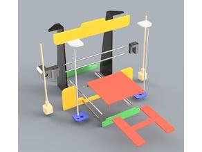 3D printed 3D printer (Anet A8)