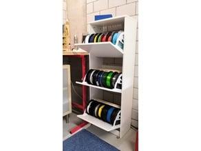 IKEA BISSA Filamentschrank / Filamentstorage