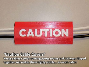 'CAUTION Cable Cover'