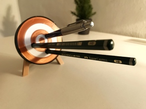 Archery Target Pen Holder