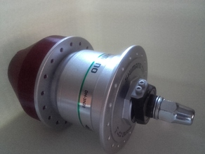 Vertical Wind Turbine Dynamo Hub Adapter