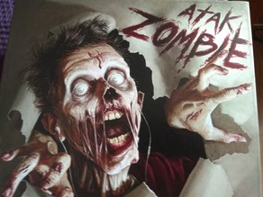 Zombie board game - card box