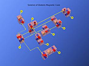 Ekobots - Magnetic Cube Puzzle