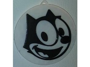 Felix the Cat Magnet & Ornament - Face Only / IEC3D