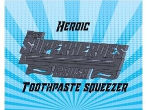 Superhero Toothpaste Squeezer