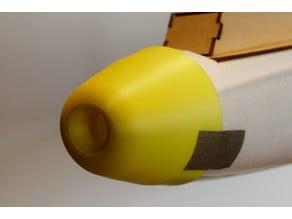 Bixler 3 protection nose fpv camera