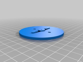 EEZYbotARM MK3 Base Remix for 9G Micro Servo
