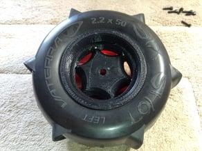 1/8 Beadlock Wheel Set for RC