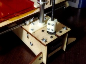 Z-rod stabilizer for Printrbot PLUS