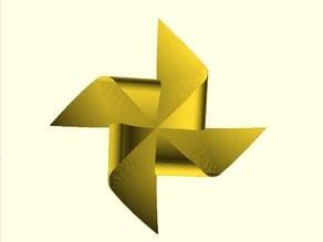 Paper WindMill (polyhedra-folie)