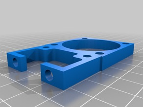 Filament cooling fan mount to x carriage