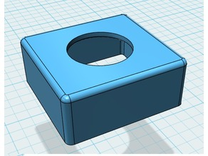 GoPro case lense mount