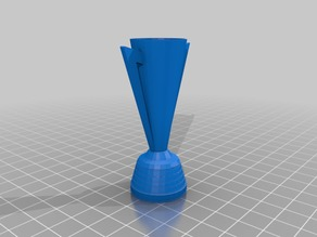 Copa Oro Trophy - Hollow Model