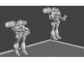 ROBOTECH Meltrandi FEMALE POWER ARMOR PRODUCTION LINE 4 set2