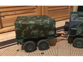 Trailer for WPL RC Army truck (B36 URAL)