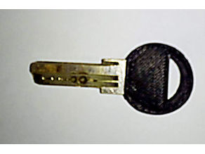 GERDA key bow replacement for flat version