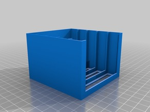 Minimal Parts Drawer Housing