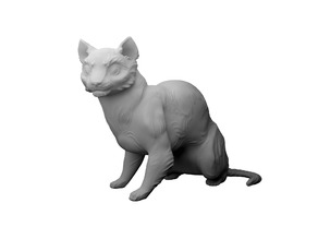 Cat ~ High detail sculpture
