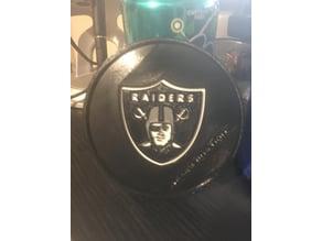 Oakland Raiders coaster