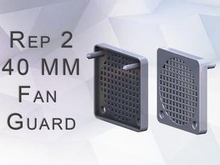 Replicator 2 - 40 mm - tool stopping fan guard