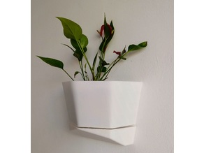 Wall vase easy to print / Vaso de parede facil de imprimir