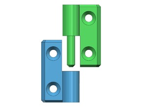Quick hinge for easy removal door Anycubic 4MAX