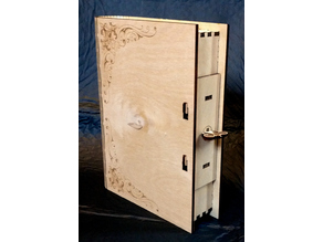 Rack and Pinion Latch Book Box