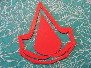 Assassin's Creed Logo Stencil