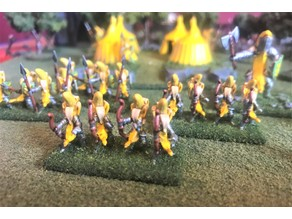 15mm Banana Knight Bows / Longbows Wargames Figures - HotT