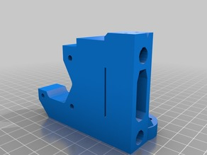 Prusa i3 MK2 X-Ends for Use with Brass Trapezoid Nuts