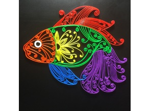 Fish  ( Quilling Style )