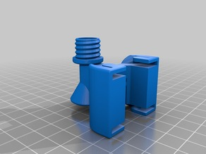 Makerbot Replicator 2 Filament Guide with Oiler
