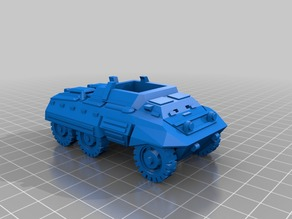 m20 scout car 1-56