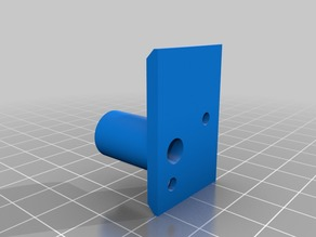 Prusa i3 MK3 filament sensor cover adapter for Mosaic Palette output tube