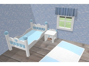 Bedside Table compatible with Sylvanian Families or Playmobil