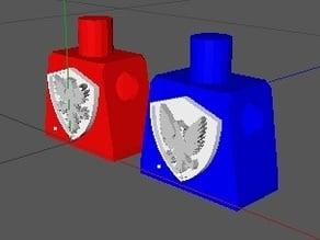 Lego Mini figures Roman Crests