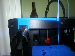 MakerBot 2 Front Spool Holder