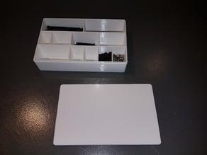 Bolts, screws, spacers and nuts Box (Boite à vis, écrous, rondelles)