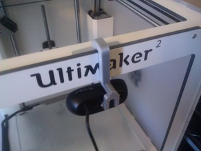 Ultimaker 2 webcam mount
