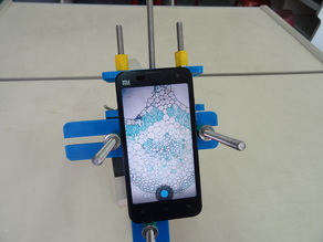Universal Cell Phone Microscope Adapter