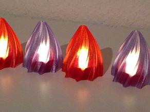 IKEA Hack Christmas Decor for LED Candles