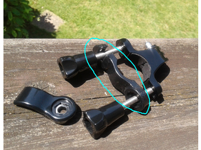 GoPro rollbar mount - Spare clamp