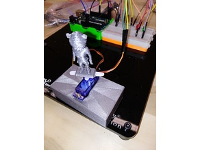 servo motor project 3dx