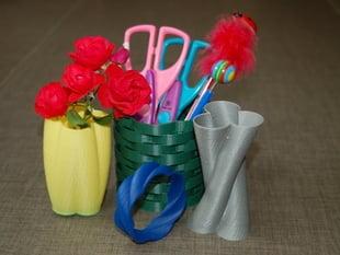 Cylinder Vase, Cup, and Bracelet Generator