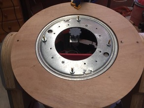 "C1-10P 12"" Lazy Susan Bearing Drive for Dome"