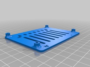DonkeyCar base plate adapter for Nvidia Jetson Nano