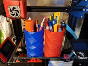 Pencil Holder (Faster printing at 0.4mm)