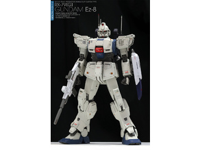 Gundam EZ 8 - 8 th ms team 1/144 scale (1:144)