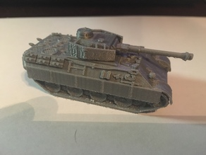 Bergepanther with Panzer IV Turret (1/100)